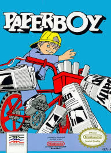 Videogiochi sul ciclismo: Paperboy