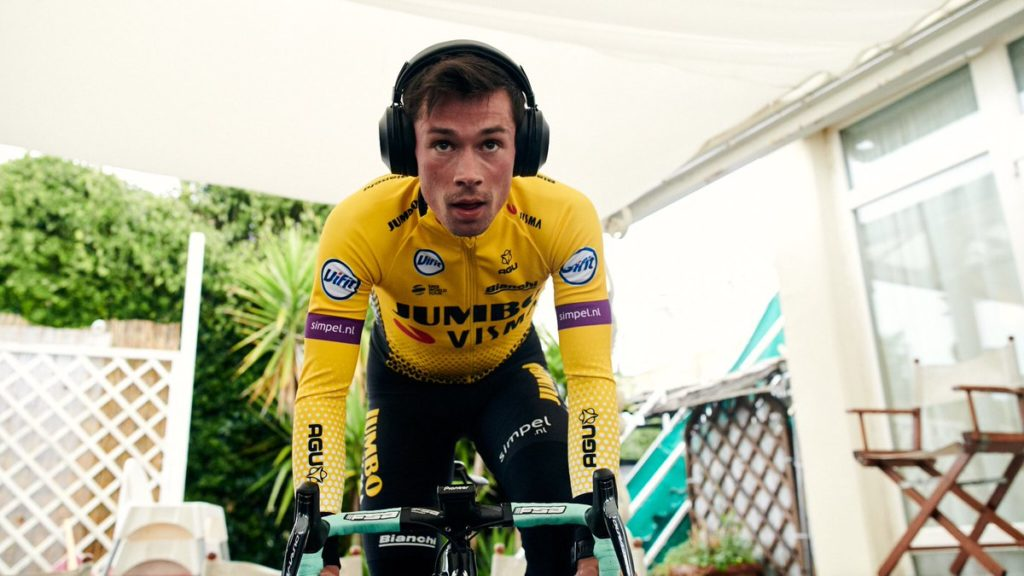 Roglic vince la Tirreno-Adriatico 2019 (fonte pagina twitter)