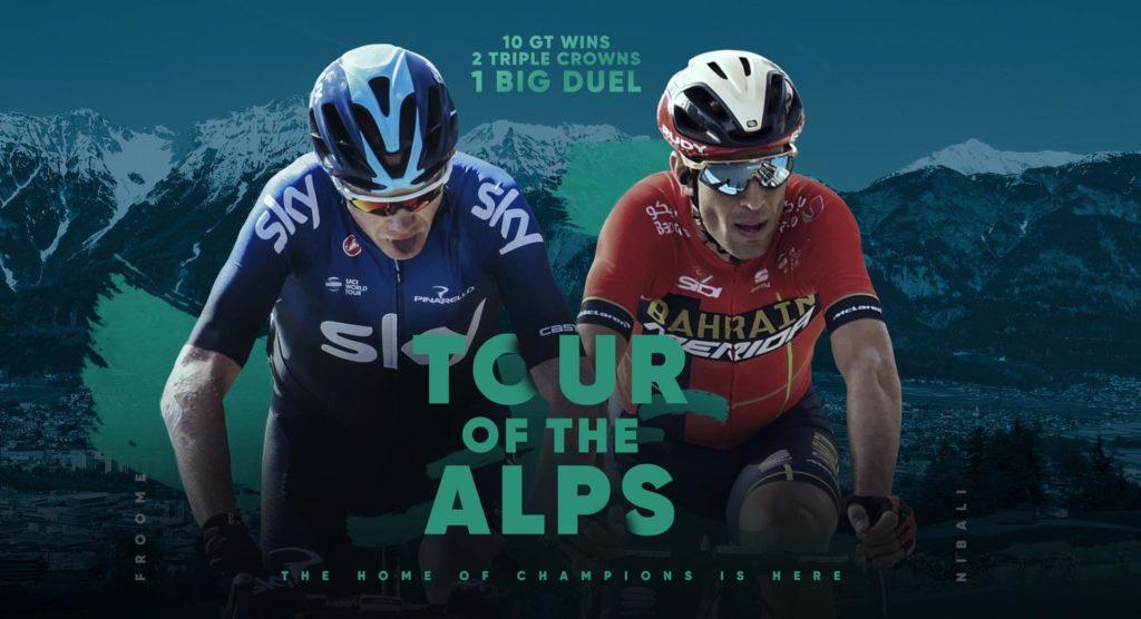 Tour of the Alper: Froome VS Nibali