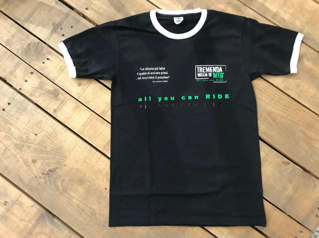 Tremenda voglia di MTB la maglietta