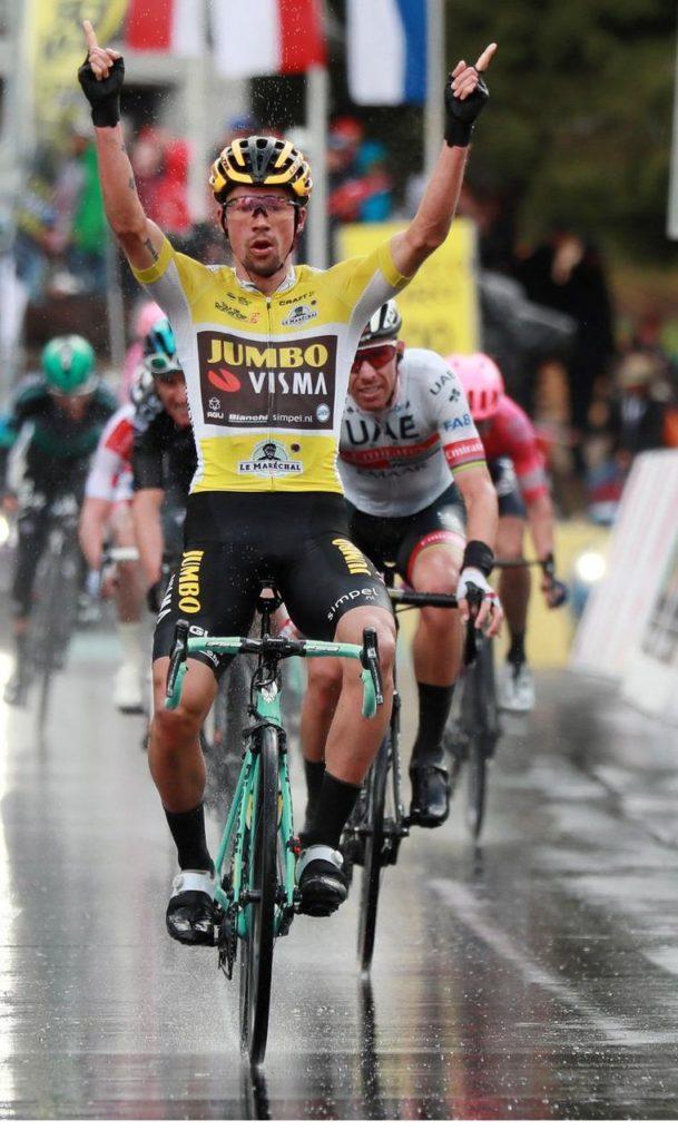 Romandia Roglic vince (fonte comunicato stampa)