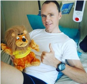Chris Froome (fonte Instagram)