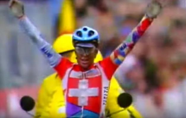 Oscar Camenzind Campione del Mondo