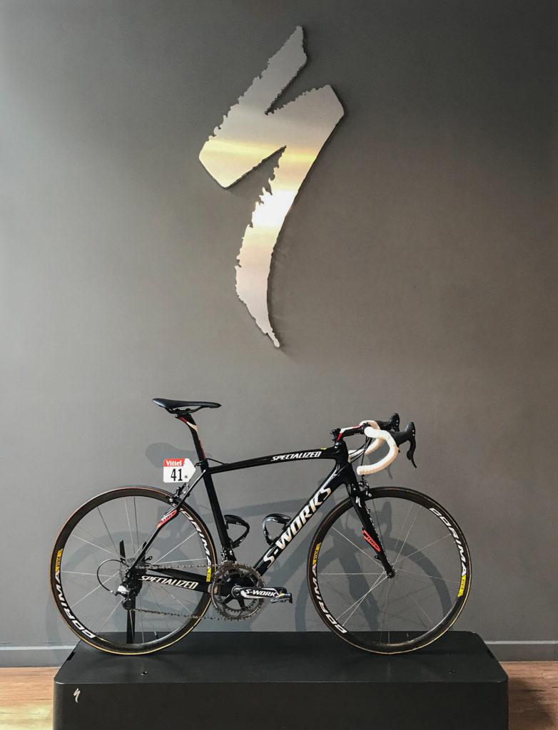 Nibali, la bicicletta in asta (fonte comunicato stampa)