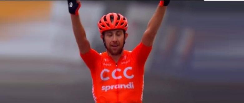 Josef Cerny vince al Giro