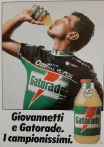 Marco Giovannetti testimonial Gatorade