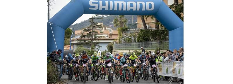 La partenza della prova femminile di Andora Race Cup 2019 (Credits: Michele Mondini)