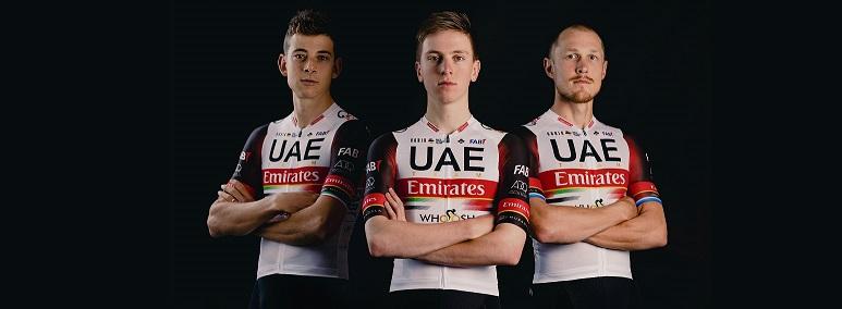 Gobik vestirà Pogačar e il resto delle star dell'UAE Team Emirates