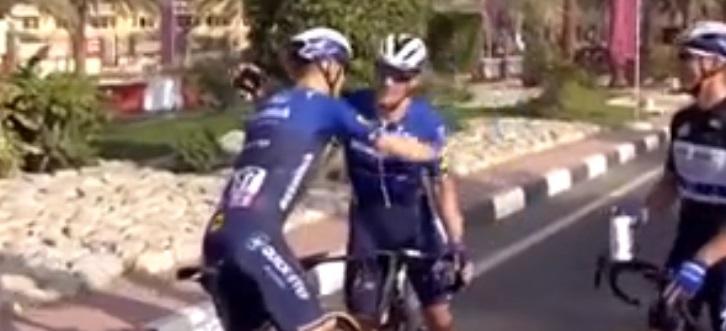 Sam Bennett vince la quarta tappa dell'UAE Tour