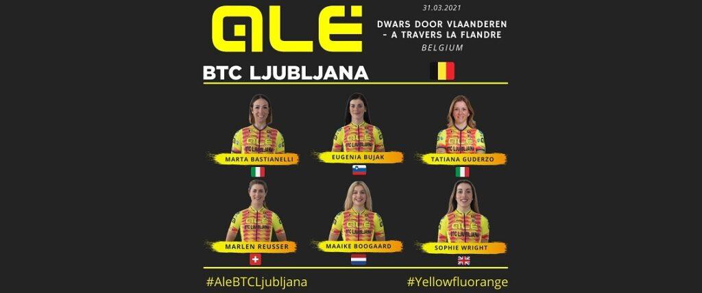 Alé BTC Ljubljana - Dwars door Vlaanderen - A travers la Flandre