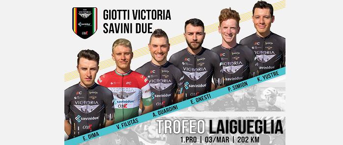 Giotti Victoria - Savini Due al via del Trofeo Laigueglia