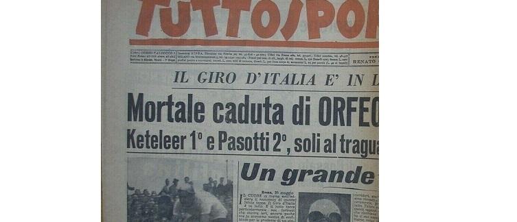 Orfeo Ponsin: la notizia