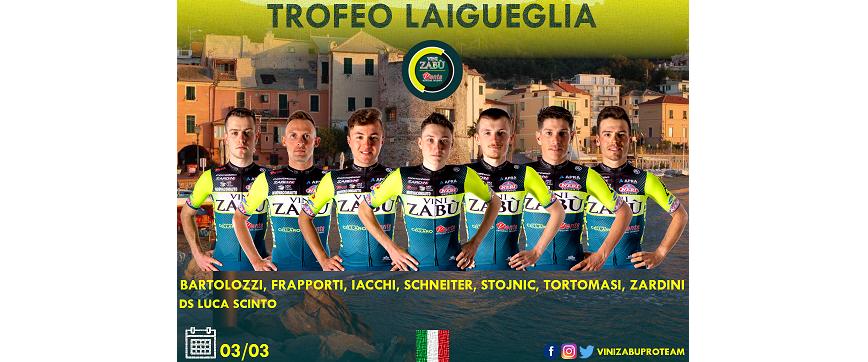 Vini Zabù mercoledì sarà impegnata su due fronti: al Trofeo Laigueglia ed al Trofej Umag