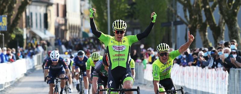 Riccardo Lucca conquista il 32° Memorial Vincenzo Mantovani la prima vittoria stagionale della General Store-Essegibi-F.lli Curia