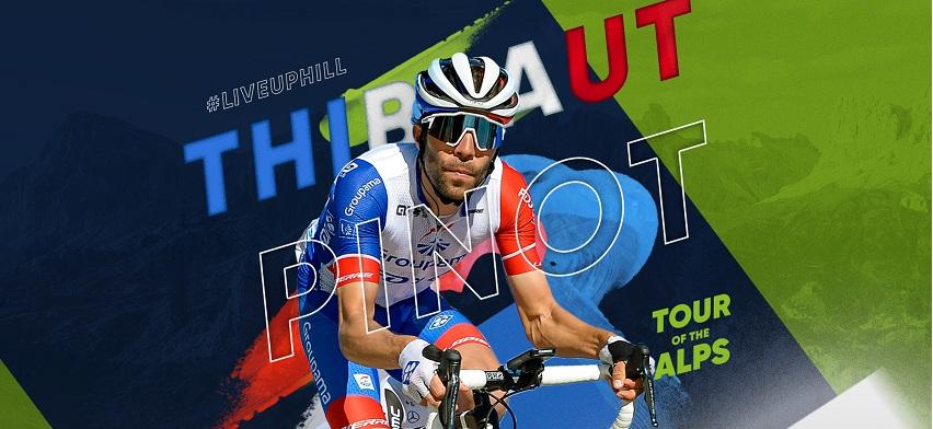 Thibaut Pinot è il capitano della Groupama-FDJ al Tour of the Alps 2021;