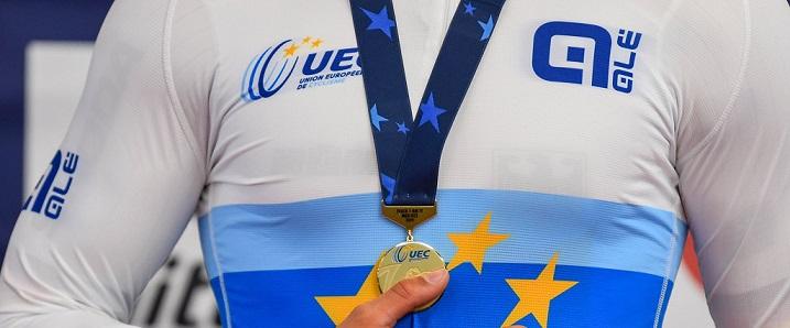 Alé UEC jersey detail