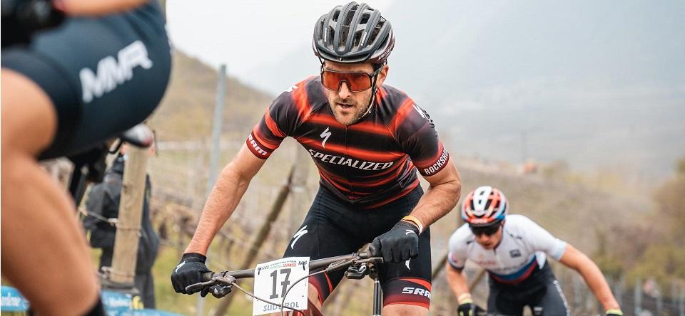 Gerhard Kerschbaumer in azione a Internazionali d'Italia Series (Credits: Alice Russolo).