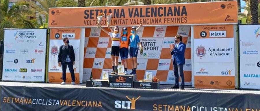 Mavi Garcia seconda nella classifica finale della Setmana Ciclistca Valenciana