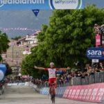 La prima di Lafay al Giro d'Italia