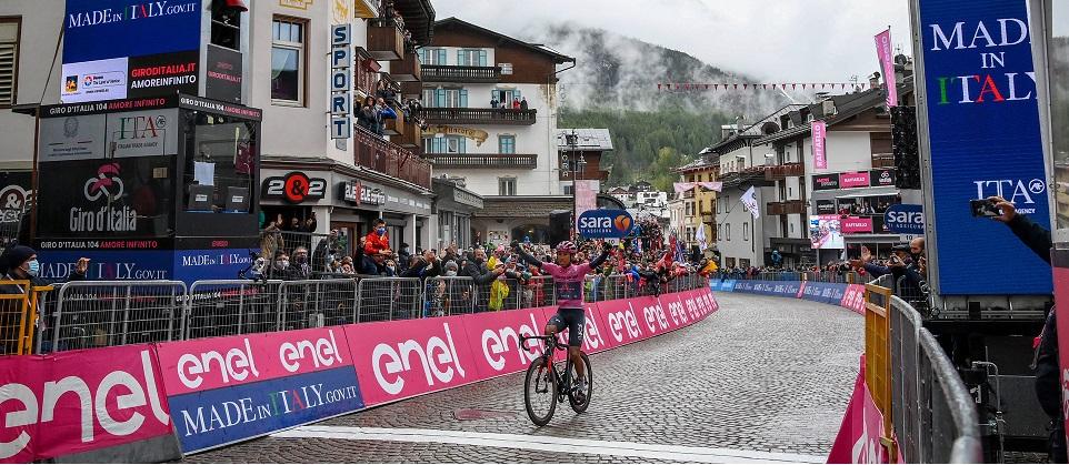 Bernal vince a Cortina (Fonte la Press)