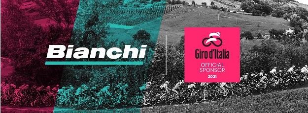 Bianchi è pronta per un nuovo viaggio come official sponsor del Giro d'Italia