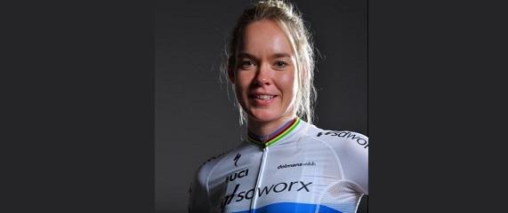 Anna van der Breggen (fonte pagina Twitter)