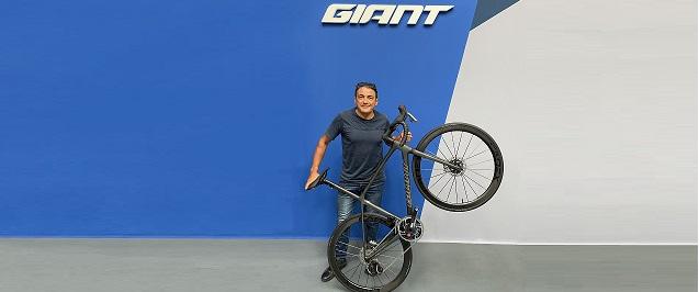 Claudio Chiappucci e Giant