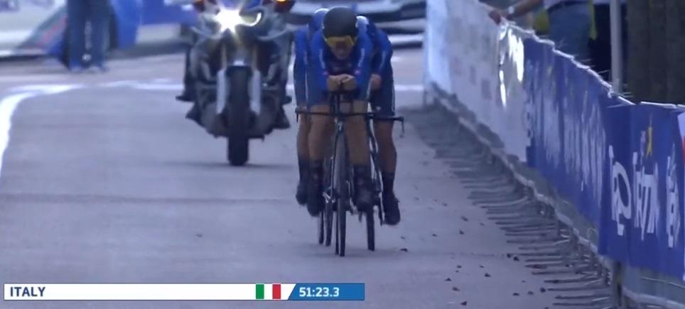 Italia oro nel Mixed Relay