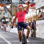 Michael Valgren vince la Coppa Sabatini