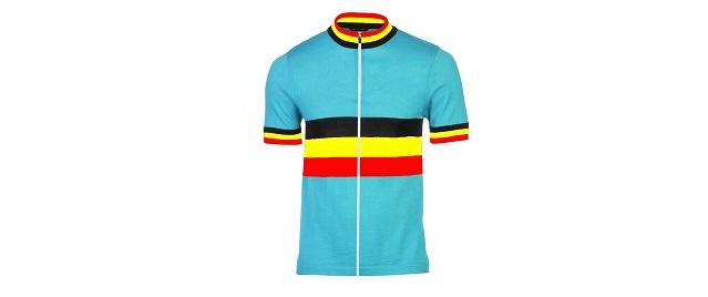 Maglia Belgio ciclismo