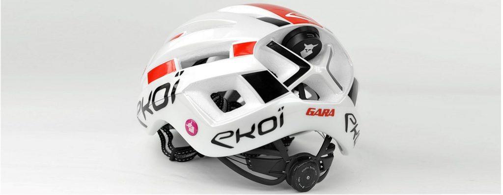 EKOI Gara helmet with TOCSEN integrated crash sensor